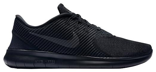 detailing b7466 44799 ... australia nike free rn cmtr mens running shoes all black workout  jogging 10 dm 42ef1 6f0a9