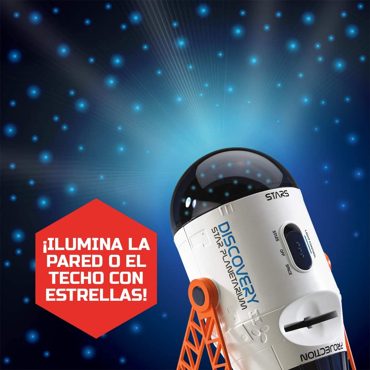 Amazon.es: Discovery- Proyector Espacial, Color Blanco (6000076)
