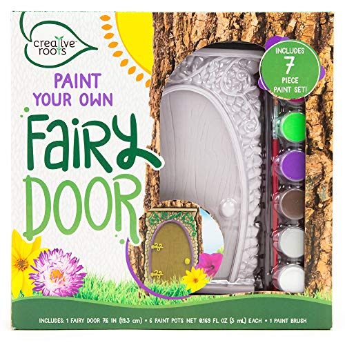 Creative Roots Paint Your Own Fairy Door by Horizon Group -