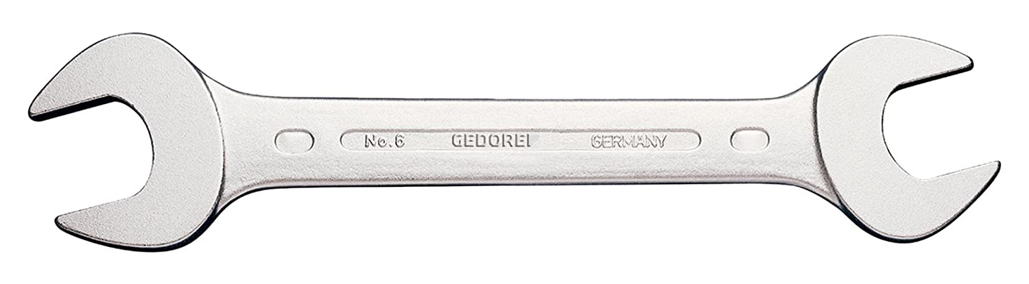 GEDORE 6 1.5//16x1.1//2AF Double Open Ended Spanner 1.5//16x1.1//2