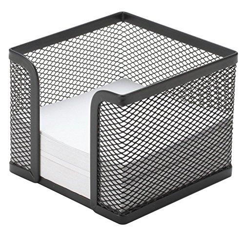 Zettelbox Metall schwarz