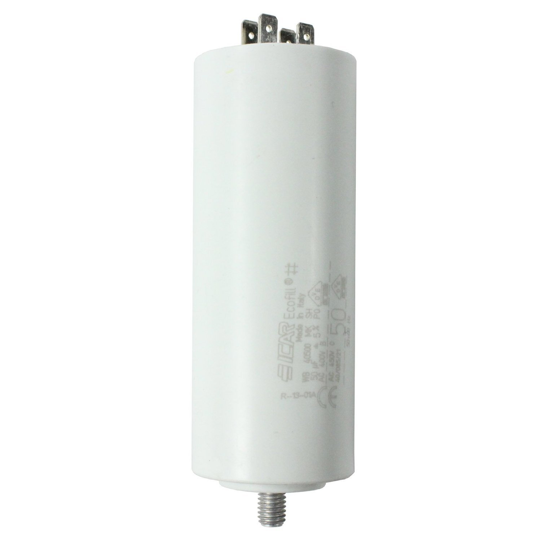 Spares2go Start Run Motor Capacitors For Smeg Appliances Microfarad 5UF Spade Connector//Tags
