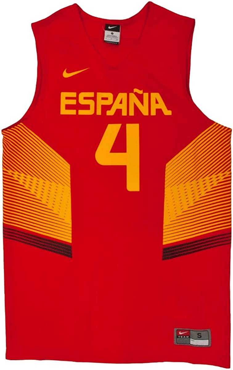 Nike WC Spain Replica Jersey - Camiseta Unisex, Color Rojo/Amarillo, Talla M: Amazon.es: Ropa y accesorios