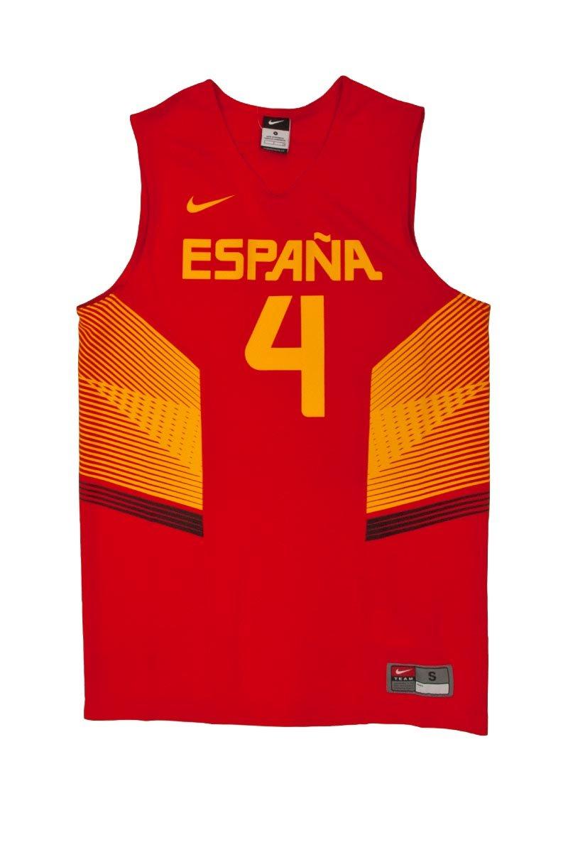 Nike Basketball Men'der spanischen Auswahl T-Shirt Mehrfarbig rot / gelb