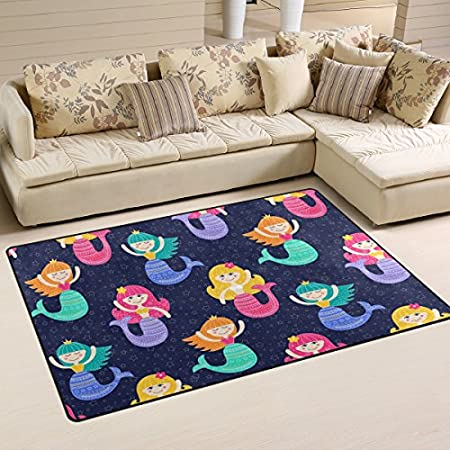61qXNpvTllL._SS450_ 50+ Mermaid Themed Area Rugs