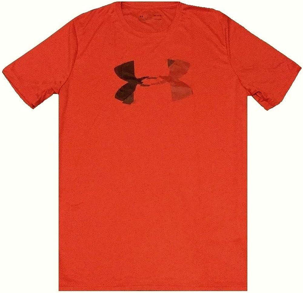 Under Armour Men's HeatGear UA Loose Fit Graphic Shirt Medium Red