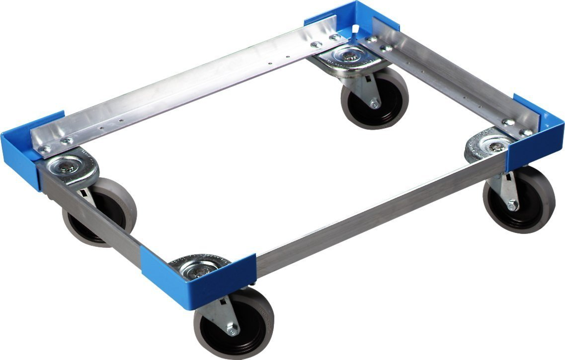 Carlisle Cateraide PC300N End-Loading Food Pan Carrier Dolly, Aluminum by Carlisle (Image #1)