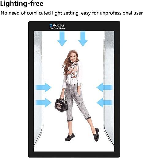 RYSD-MT 200Cm Studio Box 6 Light Strip Bars 240W 5500K White Light Photo Lighting Shooting Tent Kit for Clothes//Adult Model Portrait