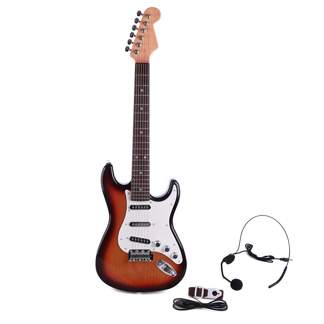 Kinder Gitarre Spielzeug, CT-Tribe 66cm 6 Saiten e-gitarre Kinder Spielzeuggitarre Pädagogisches Spielzeug