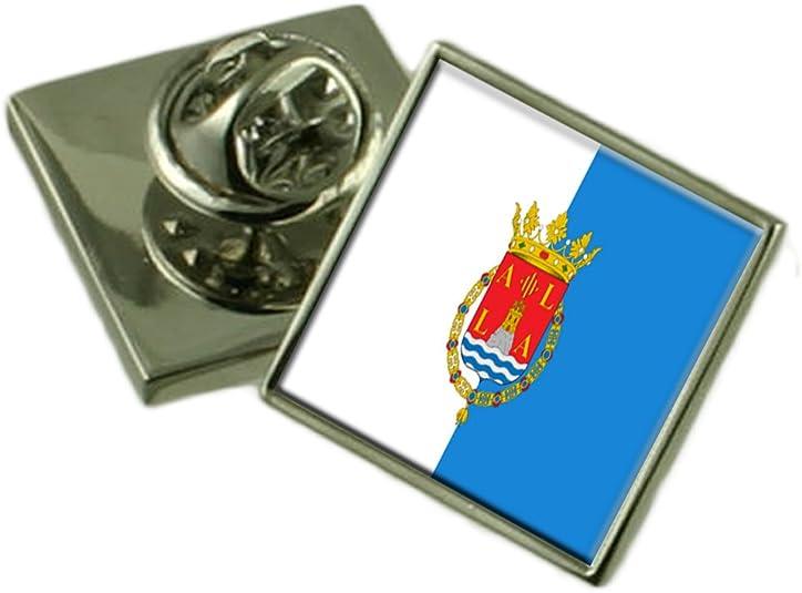 Select Gifts La Ciudad de Alicante España Bandera Insignia de Solapa Cuadro Grabado: Amazon.es: Joyería