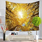 Tapestry / forest jungle landscape series / modern style home wall / beach towel / carpet / polyester fiber By MM-Maker ( Color : F , Size : 150200cm )
