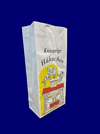 1000 Hähnchenbeutel 1//1 extra breit Tüten Gastro Imbiss