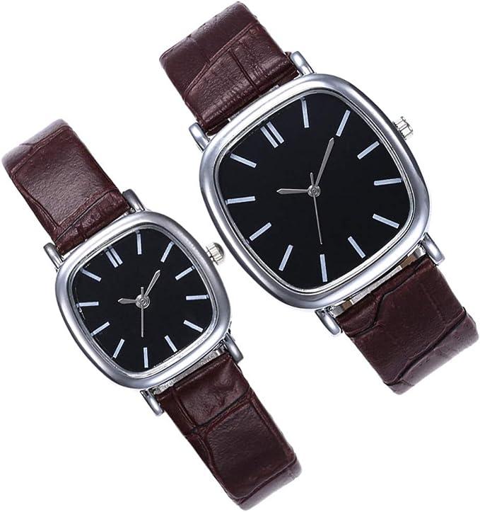 ejemplo de dos relojes de pareja