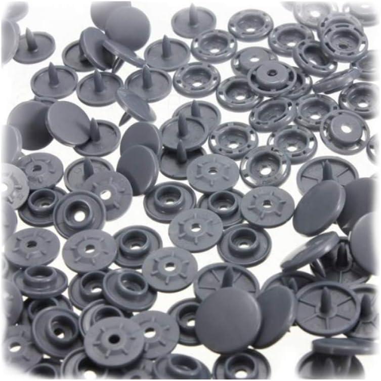 Lot de 360 boutons-pression T-5 en plastique avec boutons pression pression pression en plastique 24 couleurs avec applicateur pour tous types de v/êtements et loisirs cr/éatifs
