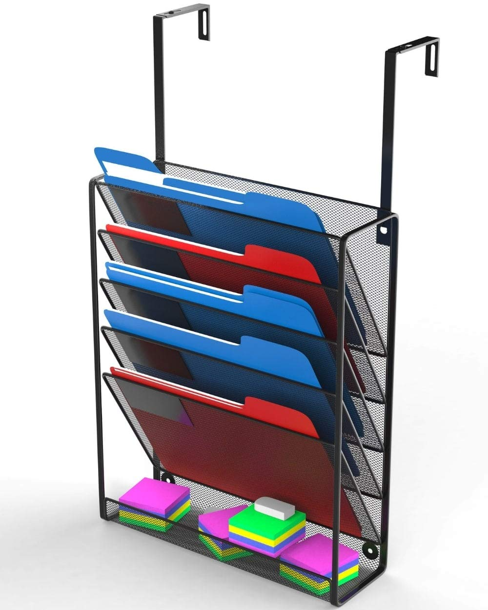 Hanging Organizer Wall File Holder - Mail, Cubicle, Office, Desk Organization