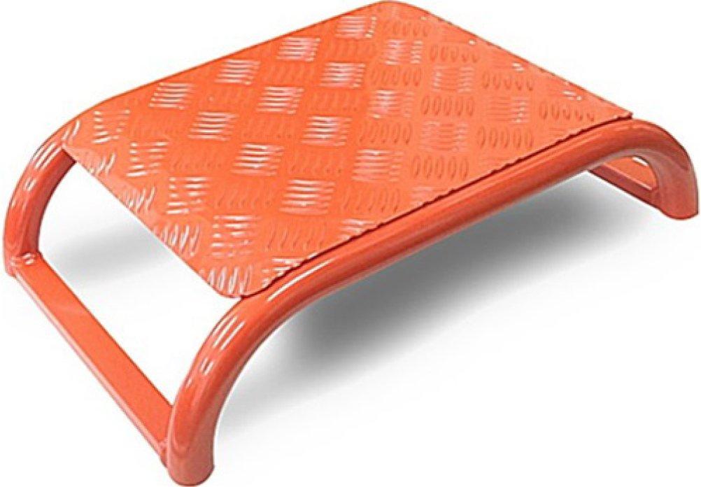 プロ用介護用品 ケアステップ 【焼付け塗装タイプ オレンジ】 日本製 安全第一 堅牢軽量 耐荷重150kg B0744BR6Z4