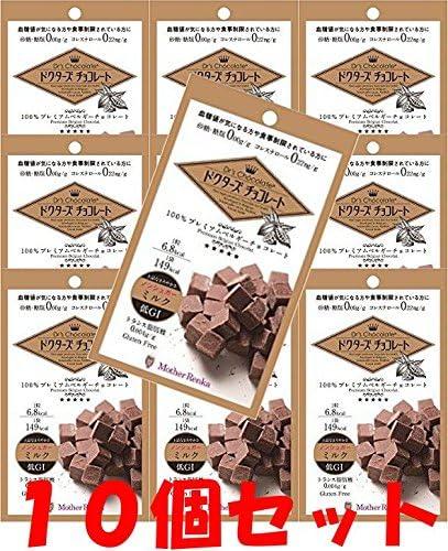 【10個セット】ドクターズチョコレートノンシュガーミルク30g