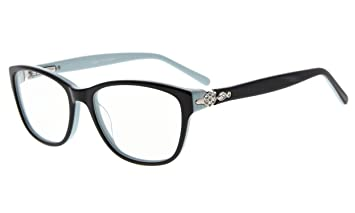 ea32ee91948a Image Unavailable. Image not available for. Color: Eyekepper Glasses Frame  Rx-able Acetate Eyeglasses ...