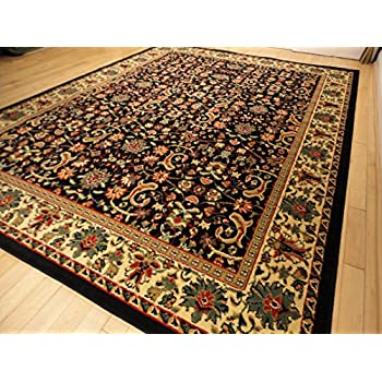 Amazoncom New Green Persian Tabriz Design Area Rugs Traditional