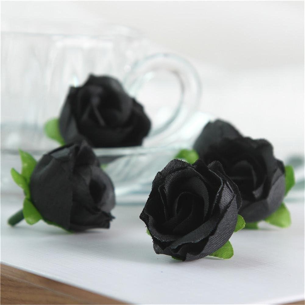 50PCS Silk Artificial Flower Fake Floral Rose Flower Simulation Rose for Home Hotel Office Wedding Party Garden Craft Art Decor