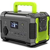 PAXCESS Portable Power Station 200W, 230Wh/62400mAh Emergency Backup Lithium Battery, 110V Pure Sine Wave AC Outlet, QC 3.0,