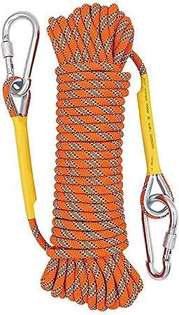 YzDnF Alta Resistencia Cuerda de Seguridad 8 mm (Naranja) al ...