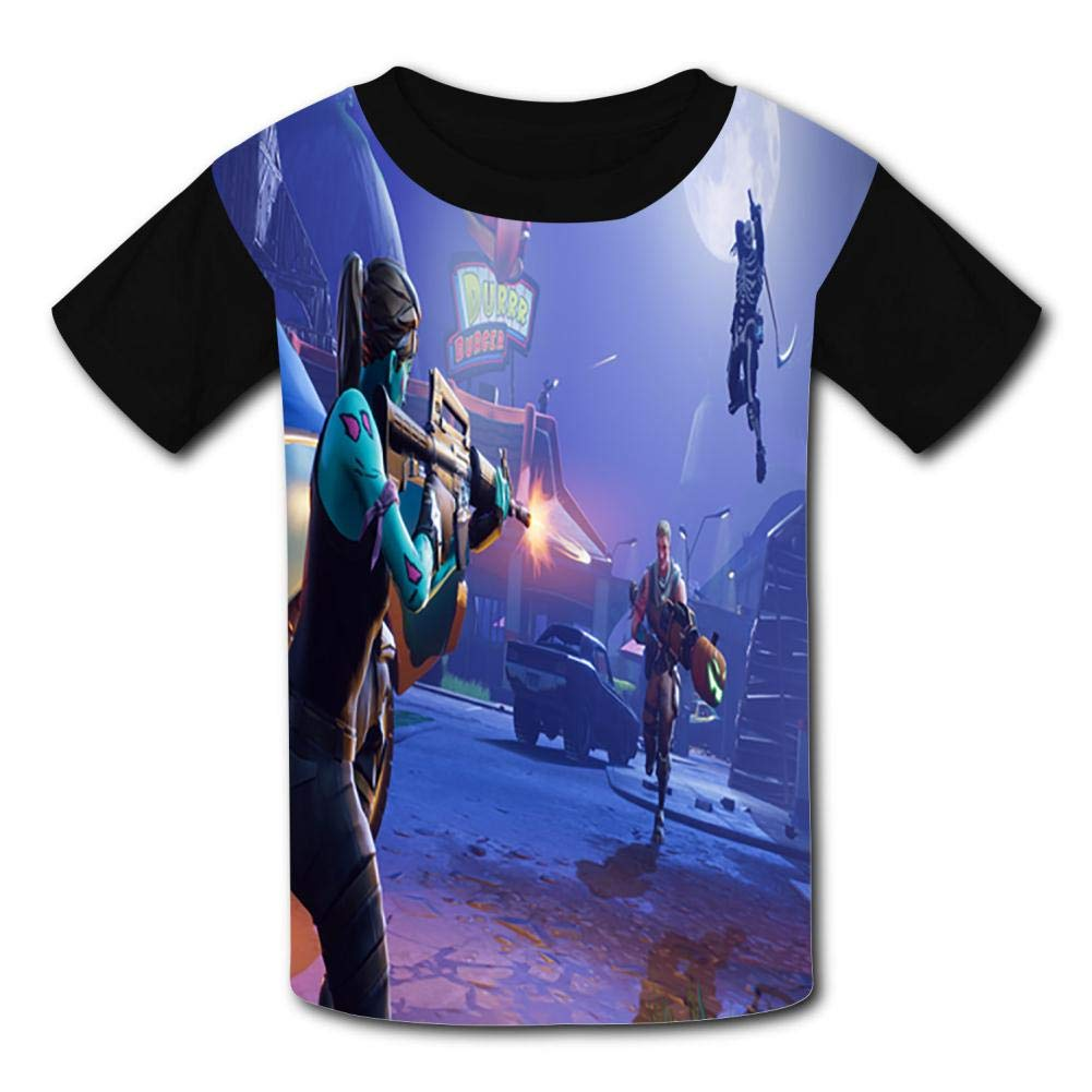 Brave Warrior Childrens 3D Summer Short Sleeve Printing T-Shirts