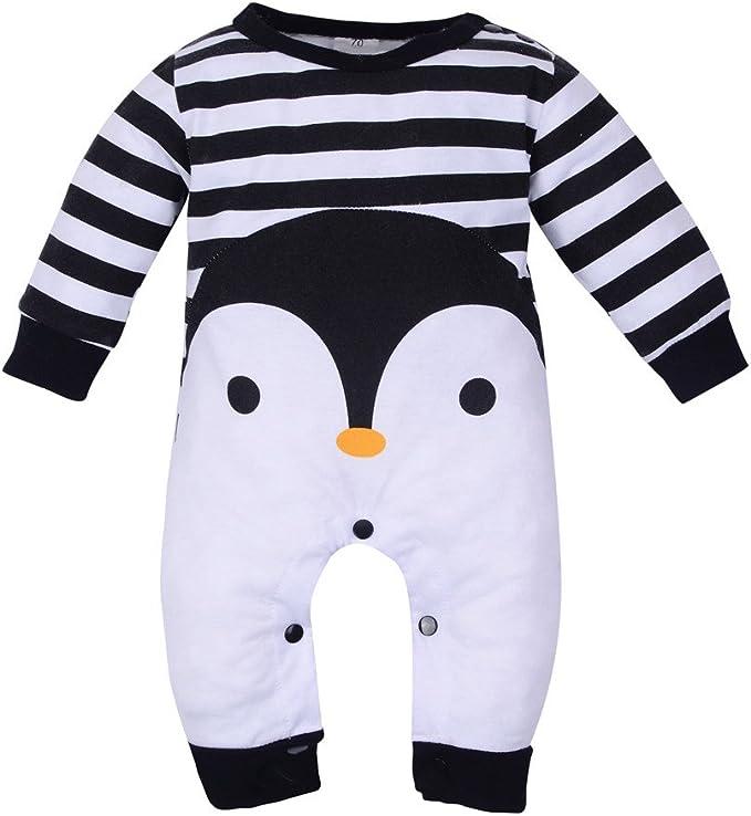 Neugeborenes Baby Junge Feder Kleidung Langarm Strampler Baumwolle Outfit