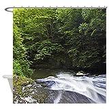 Pillow Cushion Shop Brook Bathroom Shower Curtain 72X72 Inch/180X180 Cm