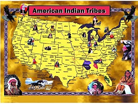 Amazon Com Mary Masters American Indian Tribes Jigsaw Puzzle