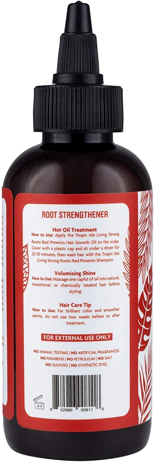 Tropic Isle Living Jamaican Strong Roots Red Pimento Hair Growth ...