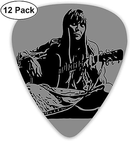 Púas de guitarra Joni Mitchell (paquete de 12) para guitarra ...