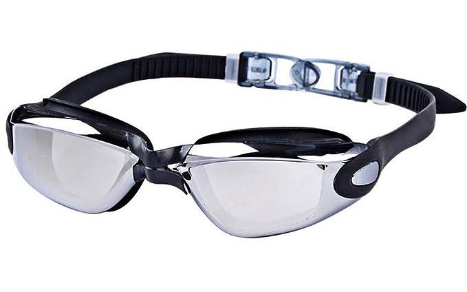 Occhiali Di Protezione Anti-nebbia Morbida E Confortevole Nuoto Occhiali Unisex HD,Pink-AreHorse