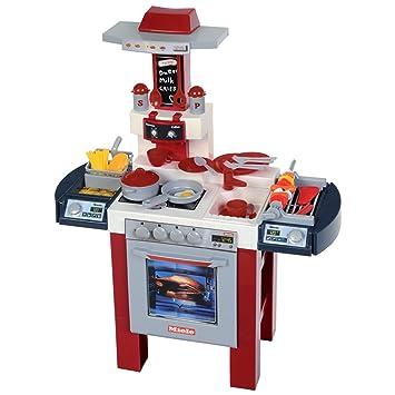 Theo Klein 9130 - Miele Cocina con Máquina De Café, Asador, Freidora Y con Numerosos Accesorios: Amazon.es: Juguetes y juegos
