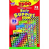 Trend T46919 Sticker Assortment Pack, Assorted, 2500 per Pack (TEPT46919)
