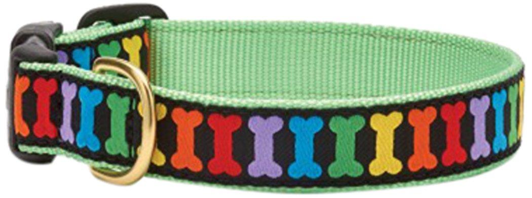 Up Country Rainbones Rainbow Bones Dog Collar X Small