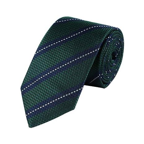 Wicemoon Corbata Hombre de Color sólido Hecha a 148 * 7 cm: Amazon ...