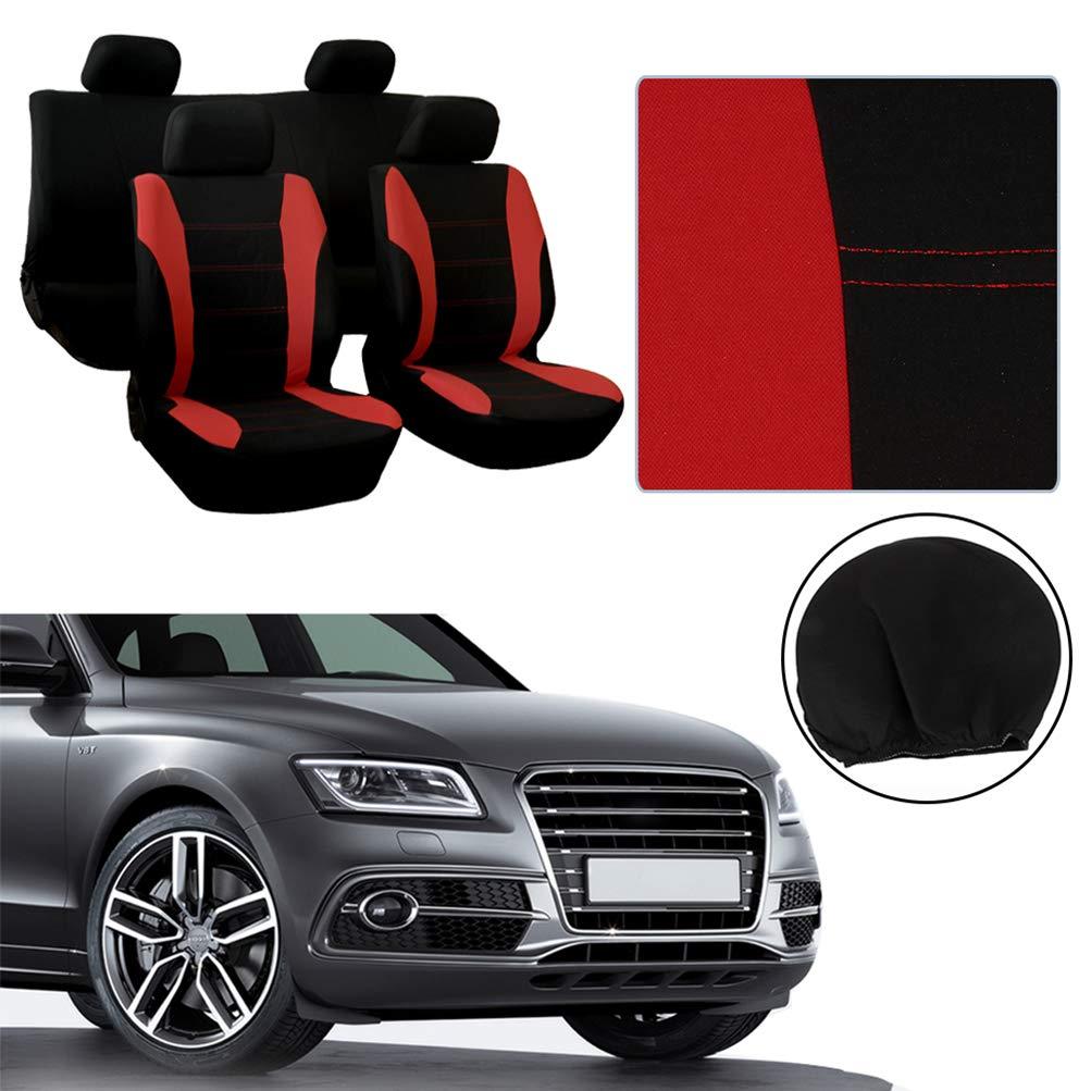 Black Nylon Carpet Coverking Custom Fit Front Floor Mats for Select Porsche 914 Models