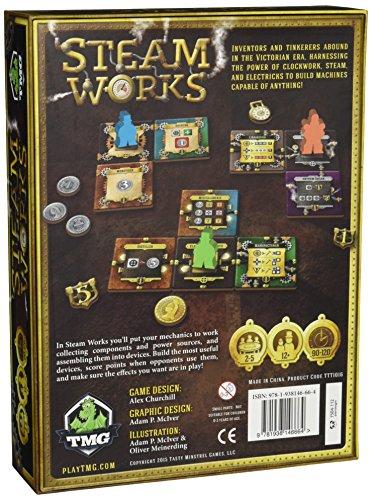 Tasty Minstrel Games Steam Works Board Game 4