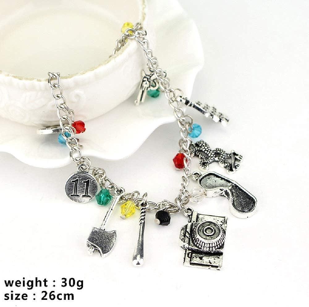 Byondever Freddy Krueger Jason Bracelet American Horror Story Classic Horror Movies/Cospaly Charm Bracelet/Fans Jewelry for Men Women Girls