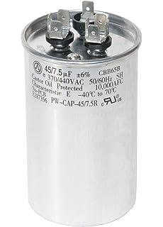 Amazon com: GE Genteq Capacitor round 45/7 5 uf MFD 440 volt
