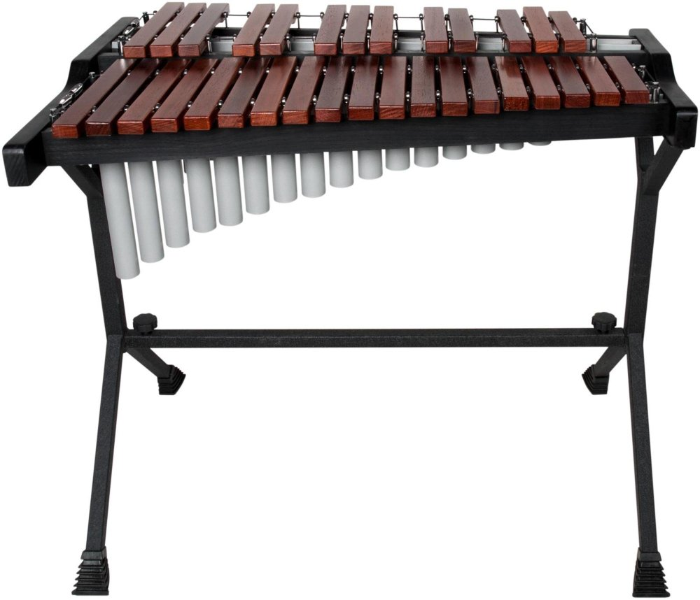 Sound Percussion Labs 2-2/3 Octave Xylophone Padauk Wood Bars with Resonators