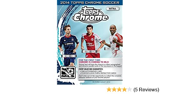 2014 Topps Chrome Soccer Blaster Box