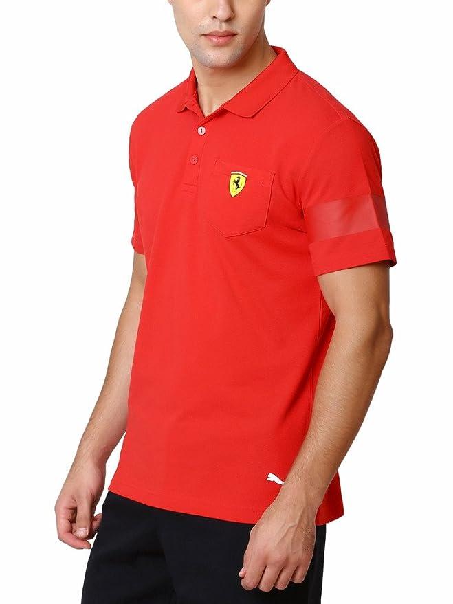 Puma Men's Polo T-Shirt (4056204205297_76183201_X-Large_Rosso Corsa) 8hYyDuChVv