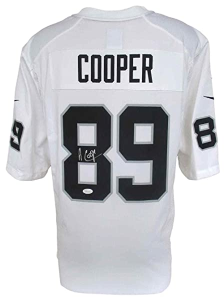 los angeles 64ad3 c9cc3 Autographed Amari Cooper Jersey - White Nike Game - JSA ...