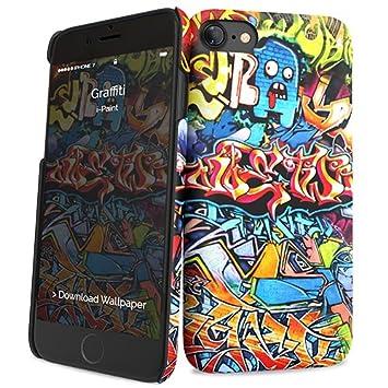 I Paint 131002 Carcasa Trasera Diseño Graffiti Para Iphone 7
