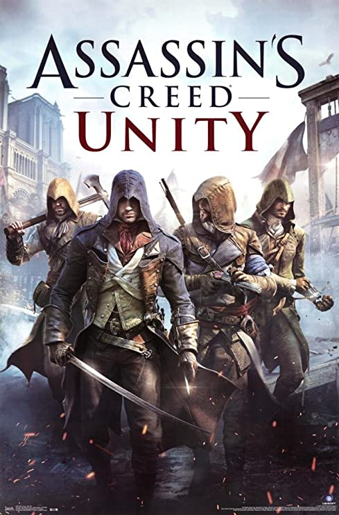 Poster Assassin S Creed Unity Key Art New Wall Art 22 X34 Rp13572 Amazon Ca Home Kitchen