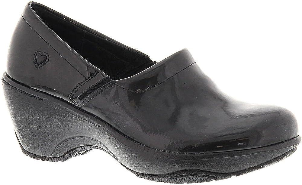 Nurse Mates Womens Bryar Slip-On Clog Shoes