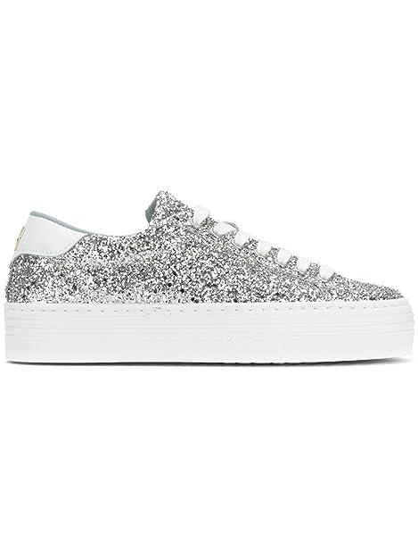 Chiara Ferragni Zapatillas Para Mujer Plateado Plata It - Marke Größe, Color Plateado, Talla 35 IT - Marke Größe 35: Amazon.es: Zapatos y complementos