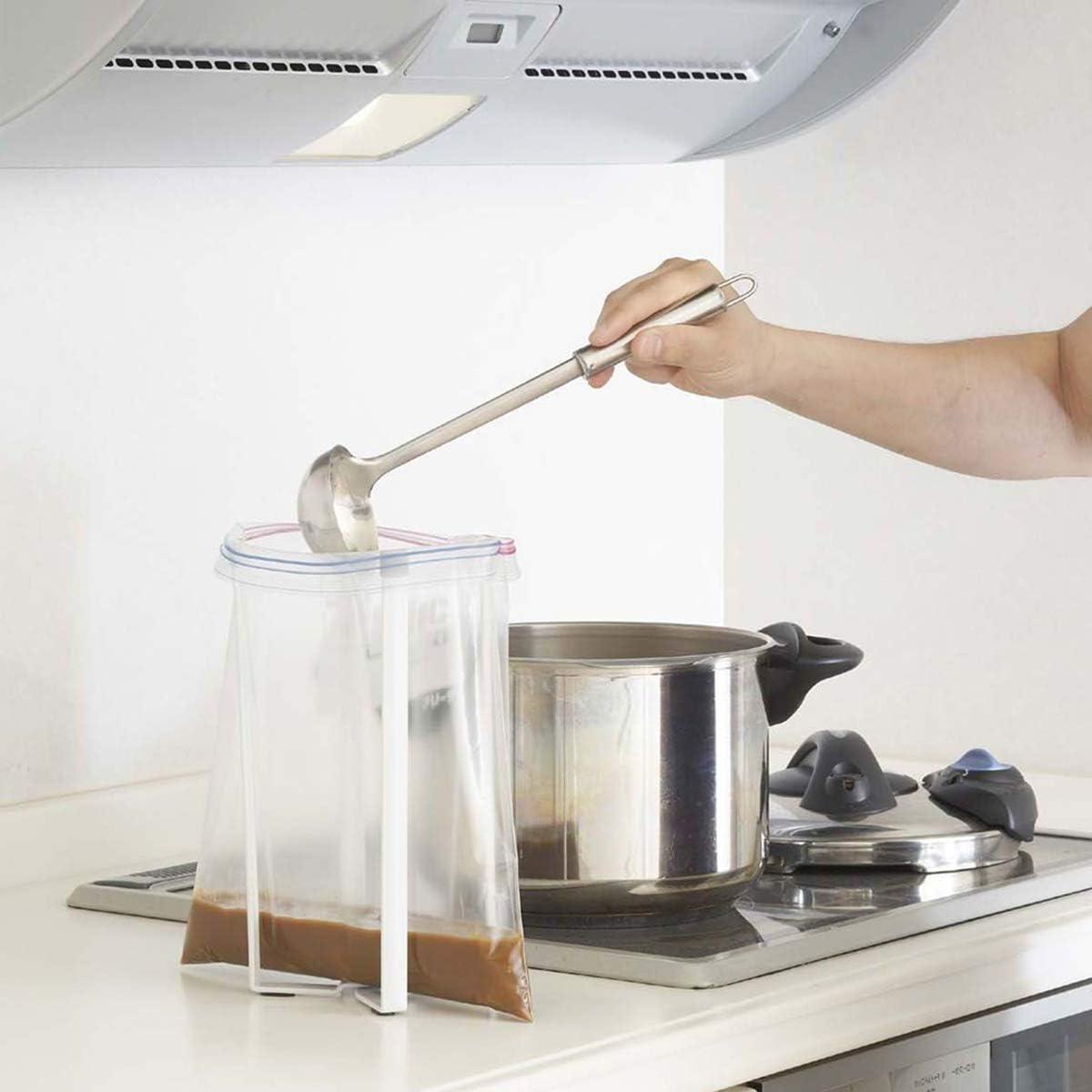 Camidy Support de Stand de Cuisine pour Sacs Bouteilles Tasses Tasses Multifonctionnelles /Étag/ères de S/échage Support de Comptoir de Cuisine pour Sacs /à Ordures